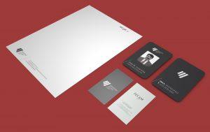 tarjetas presentacion y hojas membretadas